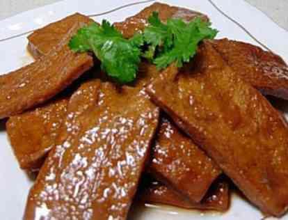 五香豆腐干