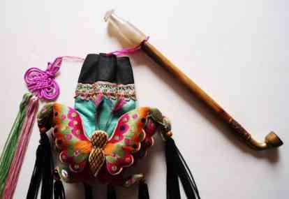 蒙古烟荷包